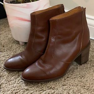 Madewell Italian Leather Boots